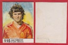Spain Jose Camacho Real Madrid